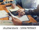 business and finance concept of ...   Shutterstock . vector #1006785865