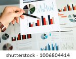 business man working and... | Shutterstock . vector #1006804414