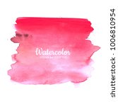 watercolor colorful hand drawn... | Shutterstock .eps vector #1006810954