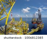 oil and gas industry. aerial... | Shutterstock . vector #1006812385