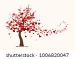 Valentine's Day Card  Love Tree ...