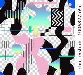 vector seamless creative... | Shutterstock .eps vector #1006827595