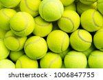 tennis balls closeup | Shutterstock . vector #1006847755