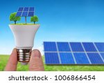 Eco Led Light Bulb With Solar...
