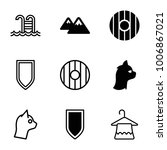simplicity icons set of 9