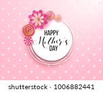 happy mother's day layout... | Shutterstock .eps vector #1006882441