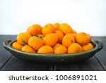 A Platter Of Fresh Orange...