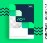 design annual report  cover ... | Shutterstock .eps vector #1006893715
