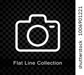 illustration of camera icon on... | Shutterstock .eps vector #1006901221