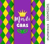 mardi gras carnival party... | Shutterstock .eps vector #1006902241