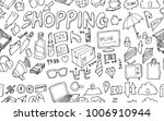vector background seamless... | Shutterstock .eps vector #1006910944