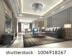 3d Rendering Wood Luxury And...