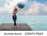 healthy woman lifestyle... | Shutterstock . vector #1006919869