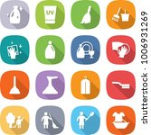 flat vector icon set   cleanser ... | Shutterstock .eps vector #1006931269