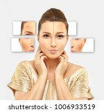 dark spots  freckles...   Shutterstock . vector #1006933519