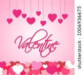 valentine love hearts | Shutterstock .eps vector #1006936675