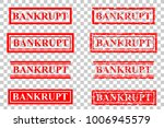 set of rubber stamp effect  ... | Shutterstock .eps vector #1006945579