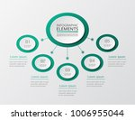 vector business template for... | Shutterstock .eps vector #1006955044