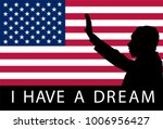 martin luther king day. i have... | Shutterstock .eps vector #1006956427