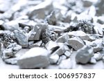 Lump Of Silver Or Platinum On A ...