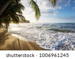 beautiful tropical pacific... | Shutterstock . vector #1006961245