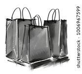 art digital acrylic and... | Shutterstock . vector #1006967599