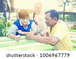 portrait of asian senior couple ... | Shutterstock . vector #1006967779