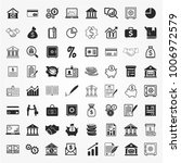 banking icons vector | Shutterstock .eps vector #1006972579