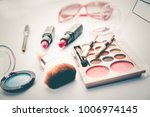 set of decorative cosmetics for ... | Shutterstock . vector #1006974145