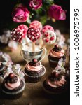 valentine day background... | Shutterstock . vector #1006975795