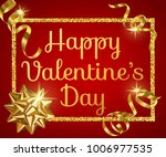 valentines day greeting card...   Shutterstock .eps vector #1006977535