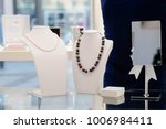 white pearl and agate stone... | Shutterstock . vector #1006984411