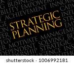 strategic planning word cloud ... | Shutterstock . vector #1006992181