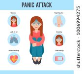 panic attacks medical... | Shutterstock .eps vector #1006994275