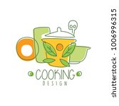 culinary hand drawn cooking...   Shutterstock .eps vector #1006996315