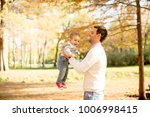 young father and baby boy... | Shutterstock . vector #1006998415