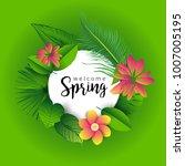 design banner with lettering...   Shutterstock .eps vector #1007005195