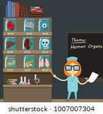 lecture on a medical topic.... | Shutterstock .eps vector #1007007304
