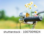 enjoy a warm sunny spring day... | Shutterstock . vector #1007009824