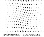 abstract halftone wave dotted... | Shutterstock .eps vector #1007010151