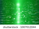 abstract background technology... | Shutterstock .eps vector #1007012044