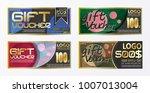 flyer design business and...   Shutterstock .eps vector #1007013004
