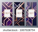 design templates for flyers ... | Shutterstock .eps vector #1007028754