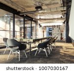loft meeting workplace. loft... | Shutterstock . vector #1007030167