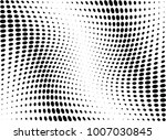 abstract halftone wave dotted... | Shutterstock .eps vector #1007030845