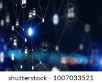 background conceptual image... | Shutterstock . vector #1007033521