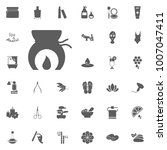 spa and recreation vector set... | Shutterstock .eps vector #1007047411