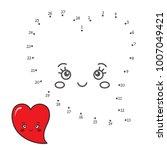 vector illustration  numbers... | Shutterstock .eps vector #1007049421