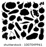 vector silhouettes of... | Shutterstock .eps vector #1007049961