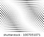 abstract halftone wave dotted... | Shutterstock .eps vector #1007051071